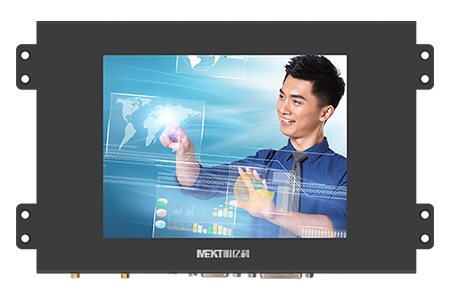 6.4 inch resistive touch display